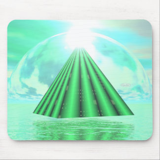 Mystical pyramid - 3D render Mouse Pad