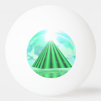 Mystical pyramid - 3D render Ping Pong Ball
