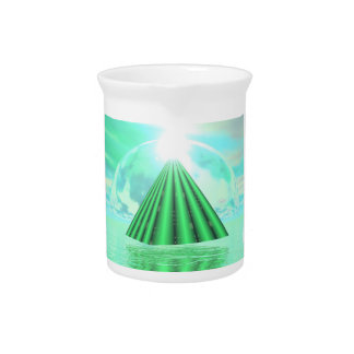 Mystical pyramid - 3D render Pitcher