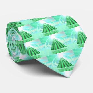 Mystical pyramid - 3D render Tie