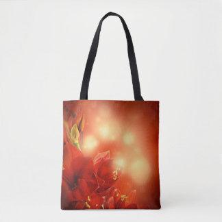 Mystical Red Rose Tote Bag