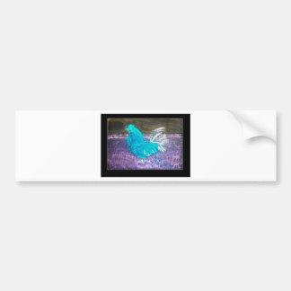 Mystical Rooster Art Bumper Sticker