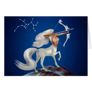 Mystical Sagittarius Card