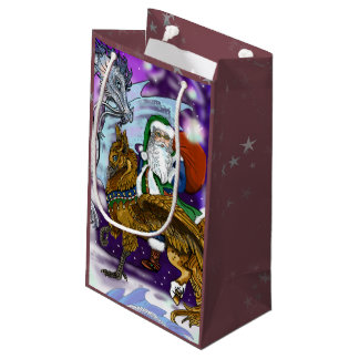 Mystical Santa Small Gift Bag
