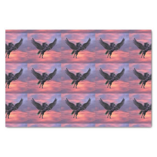 MYSTICAL SUNSET PEGASUS TISSUE PAPER