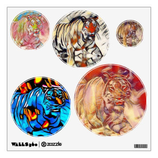 Mystical Tiger Wall Decals