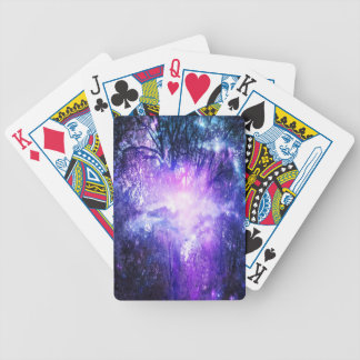 Mystical Tree Bicycle Playing Cards
