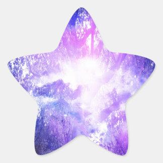 Mystical Tree Star Sticker