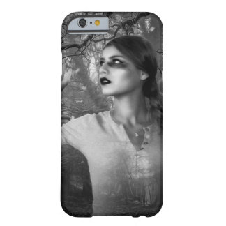 Mystical Witchy Woman in the Woods Cell Phone Case