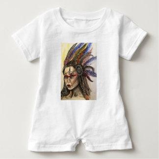Mystical Woman Baby Romper