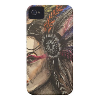 Mystical Woman iPhone 4 Case