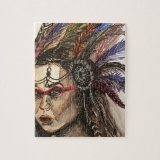 Mystical Woman Jigsaw Puzzle