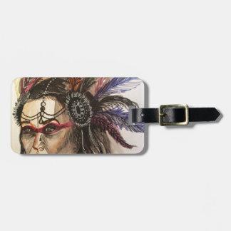 Mystical Woman Luggage Tag