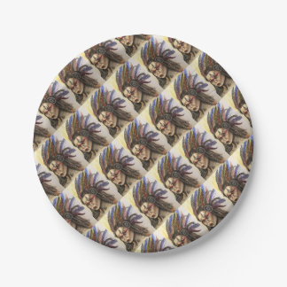 Mystical Woman Paper Plate