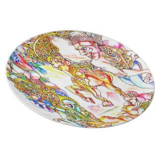Mystics Collectable Art Plate