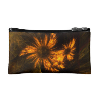 Mystique Garden Abstract Art Cosmetic Bags