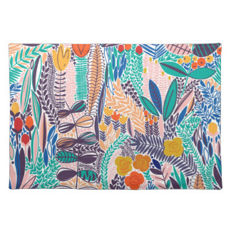 Mystique Garden  Flowers Placemat