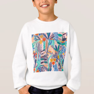 Mystique Garden  Flowers Sweatshirt