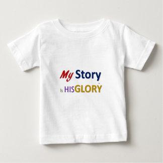 mystoryishisglory baby T-Shirt
