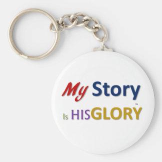 mystoryishisglory keychain