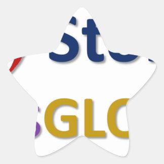 mystoryishisglory star sticker