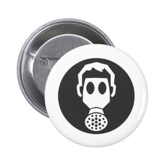 Mythbusters Gas Mask Pin