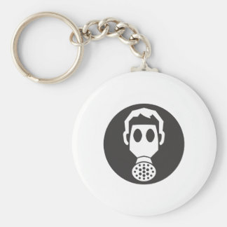 Mythbusters Gas Mask Keychains