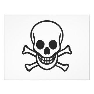 Mythbusters Skull Custom Invites