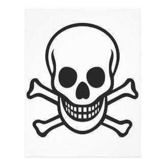 Mythbusters Skull Custom Letterhead