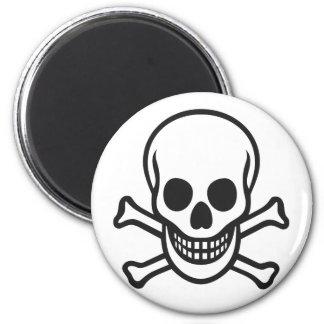Mythbusters Skull Refrigerator Magnet