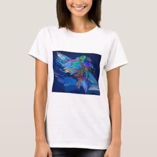 Mythical Killer Crayon Colored Eagle T-Shirt