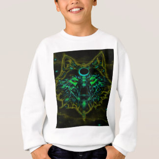 Mythical Neon Yellow Wolf Sweatshirt