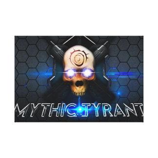 MythicTyrant Canvas Print