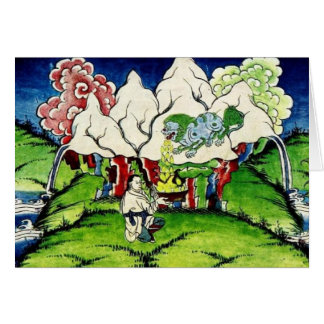 Mythological Dragon Card