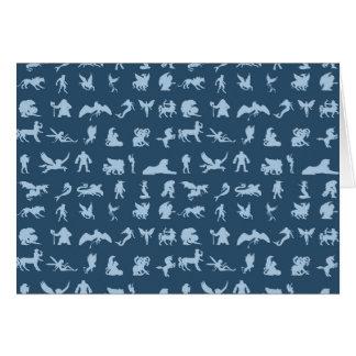 Mythology Creatures Card