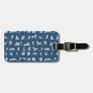 Mythology Creatures Luggage Tag