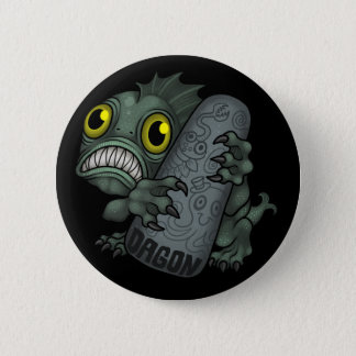 MYTHOS: Dagon 2 Inch Round Button