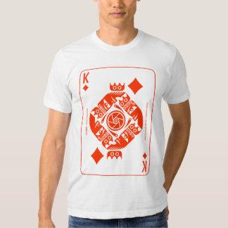 Mythos Jormungandr King of Diamonds T Shirts