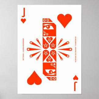 Mythos Kamadeva Jack of Hearts Posters