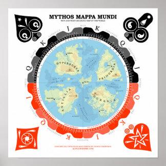 Mythos Mappa Mundi Posters