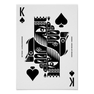 Mythos Osiris King of Spades Poster