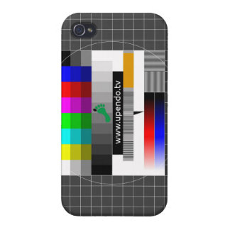 myUPENDO iPhone 4/4S covering test pattern Case For The iPhone 4