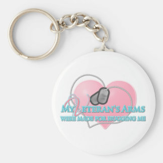 MyVeteransArms Basic Round Button Keychain