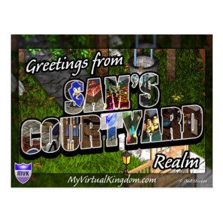 MyVirtualKingdom Postcard Sam Courtyard