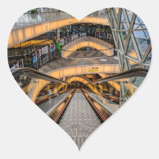 MyZeil Shopping Mall Frankfurt Heart Sticker