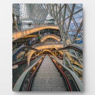 MyZeil Shopping Mall Frankfurt Plaque