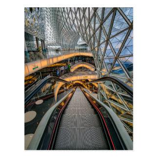MyZeil Shopping Mall Frankfurt Postcard