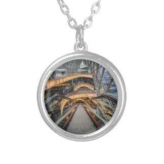 MyZeil Shopping Mall Frankfurt Silver Plated Necklace
