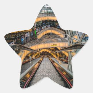 MyZeil Shopping Mall Frankfurt Star Sticker