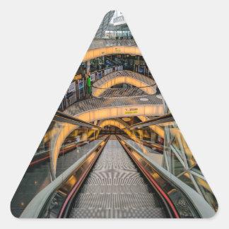MyZeil Shopping Mall Frankfurt Triangle Sticker
